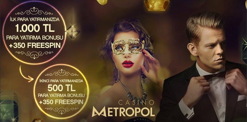 Casino Metropol Hoş Geldin Bonusu